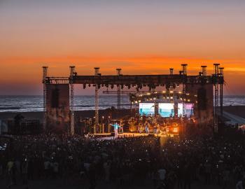 Coastal Country Jam Sunset