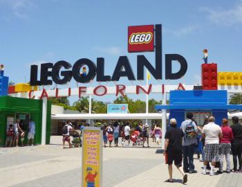 LEGO Land California Entrance