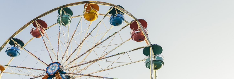 Ferris Wheel at Theme Park