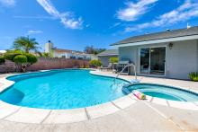 anaheim rentals with private pools