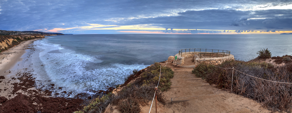 Crystal Cove State Park Lookout