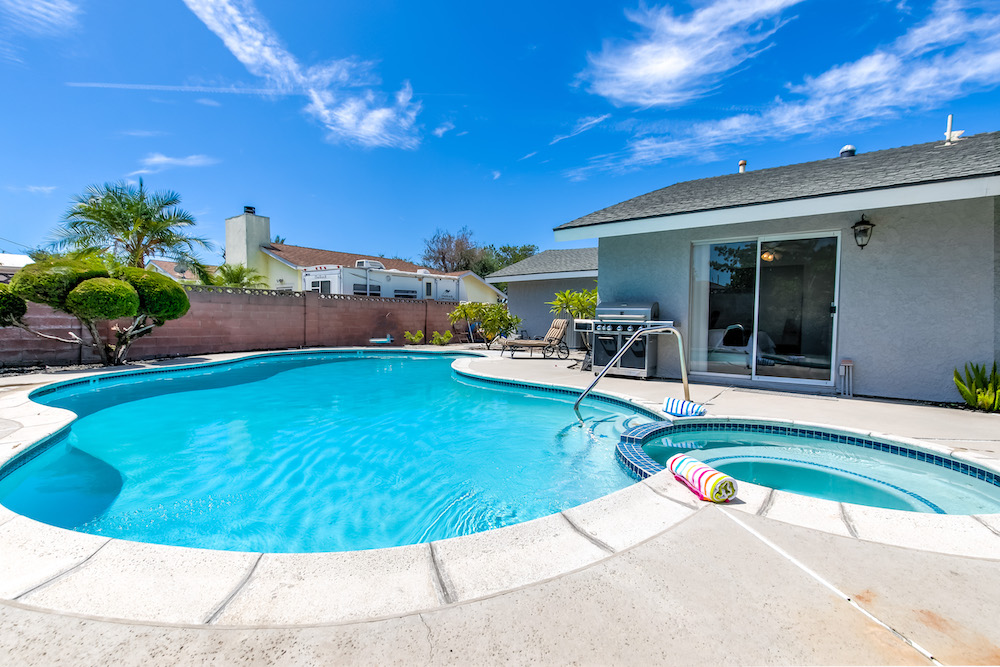 orange county vacation rentals with private pool